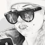 Amanda Bynes facial