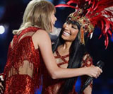 Taylor Swift and Nicki Minaj, 2015 MTV Music Video Awards