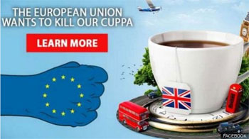 The European Union wants to kill our cuppa