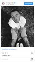 Ariana Grande's tribute post to Mac Miller on Instagram