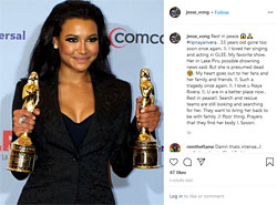 """Rest in peace #ripnayarivera…"", Instagram"