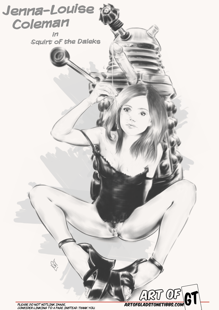 Jenna Louise-Coleman—Squirt of the Daleks