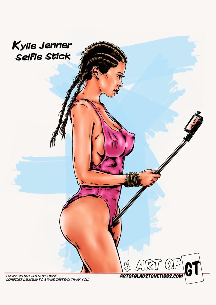 Blog: Kylie Jenner, selfie stick