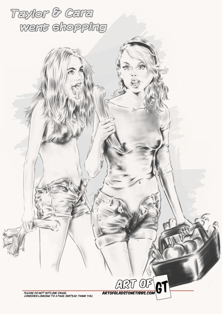 Taylor & Cara went shopping